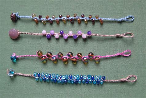 how to make cool bead bracelets braided bead bracelets lulabelle handicrafts