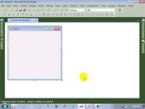 tutorial visual studio 2010 youtube visual studio 2010 tutorial create new project youtube