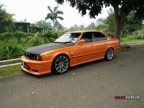 kereta bmw 5 series the orange e34 my ride gk049 galeri kereta