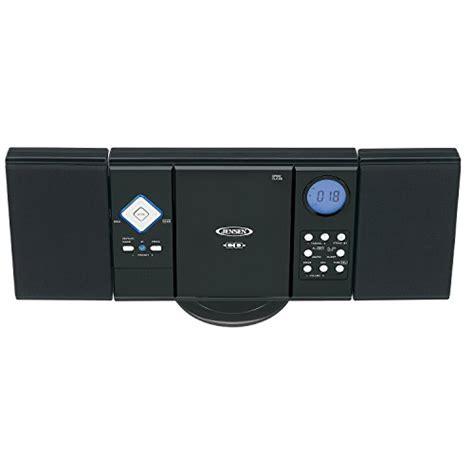 jensen wall mountable vertical loading cd player