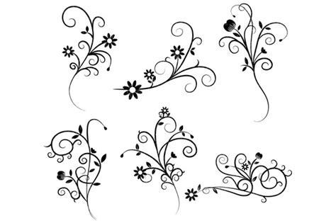 flower swirl clipart clip art library