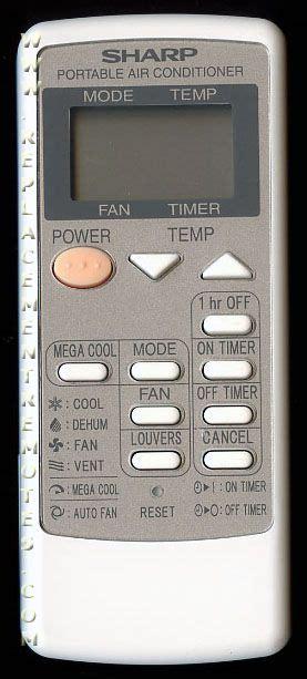 Remot Ac Sharp Plasmacluster Original 9 buy sharp crmca729jbez air conditioner unit remote