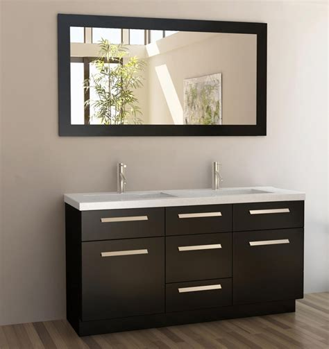 Dual Sink Bathroom Vanity 60 Inch Sink Bathroom Vanity With Quartz Top Uvdej60ds60