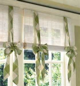 Ways To Tie Curtains 8 Ways To Dress Up The Kitchen Window Without Using A
