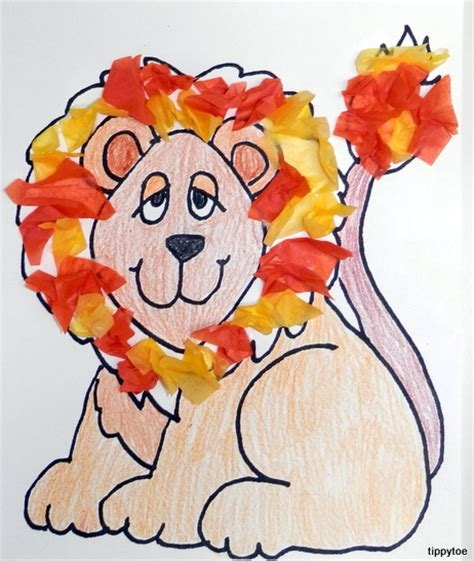 safari crafts for tippytoe crafts lazy lions