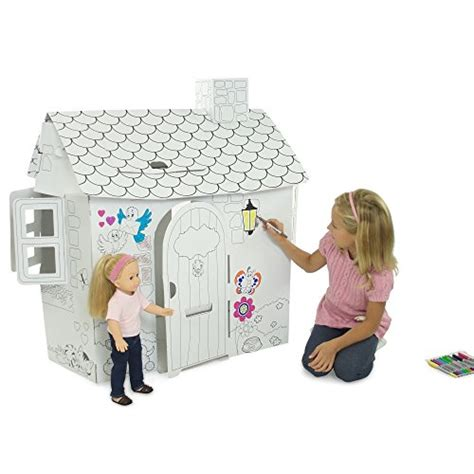 18 inch american girl doll house fits american girl doll house 18 inch dollhouse ready to paint decorate toy ebay