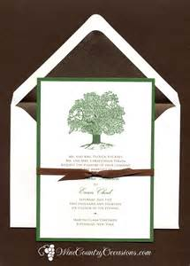 oak tree wedding at a winery wine country occasions