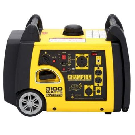 3 100 watt gasoline powered wireless remote start inverter