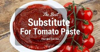 the best substitute for tomato paste that you can use