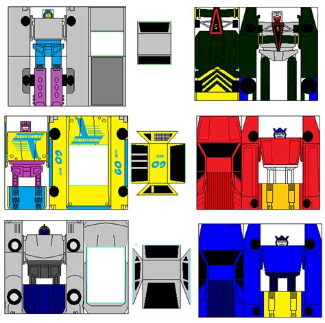 Transformer Papercraft - g2 gobots pg 2 by arkbotg2 on deviantart