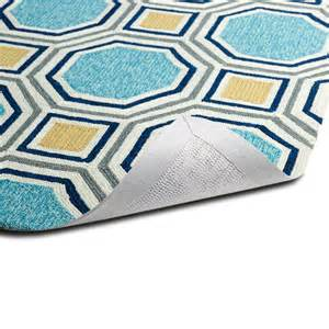 Yellow And Blue Outdoor Rug 10 Save An 18 90 Use Code Bath10 At Checkout