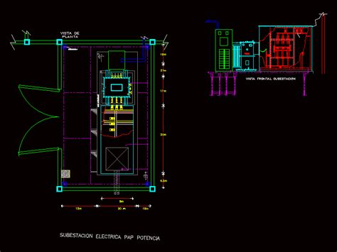 electrical layout plan autocad electrical substation dwg plan for autocad designs cad