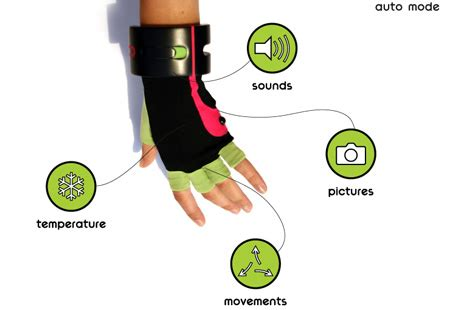jik : gadget glove that actively and passively records and