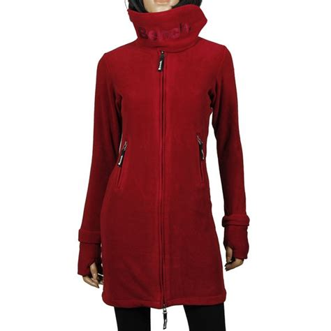 bench long jacket bench long fleece zip coat tibetan red fleece jacket