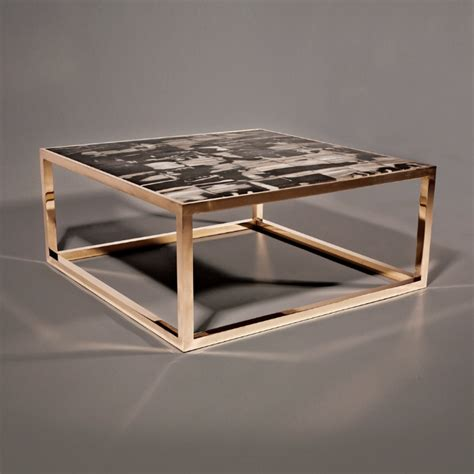 bronze and wood coffee table hudson furniture furniture coffee tables