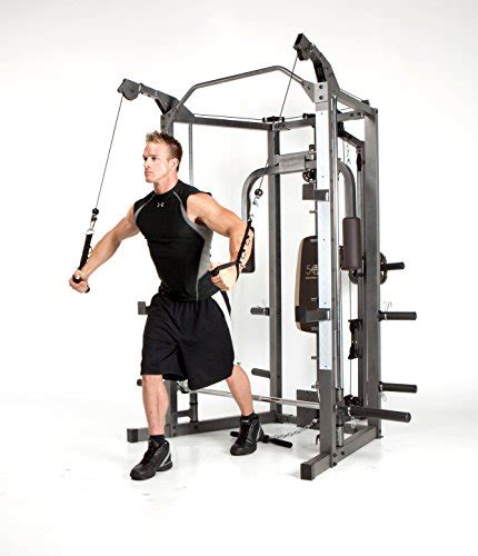 smith bench press bar weight marcy smith cage machine with workout bench and weight bar