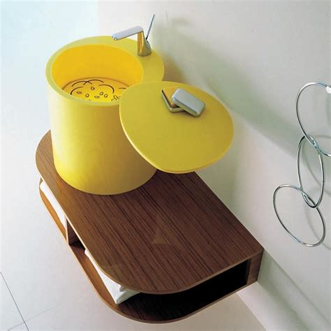 yellow bathroom sinks degree bm 113 yellow sink contemporary bathroom sinks
