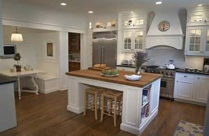 cottage style kitchen island