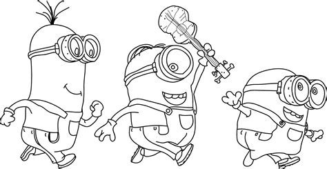 all minions coloring pages minion coloring pages best coloring pages for kids