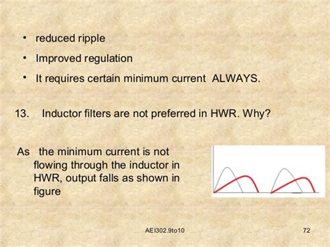 why we use inductor in series why series inductor filter cannot be used in half wave rectifier 28 images passive