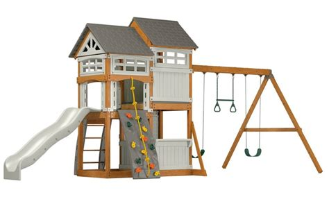 swing set mall coupon vista backyard playground set groupon goods