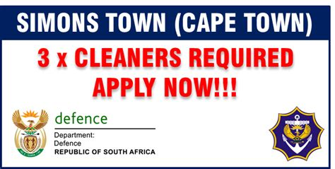 cleaner jobs in cape town 3 x cleaner positions gt sa webbook