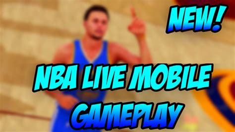 live mobile nba live mobile gameplay new nba live mobile android