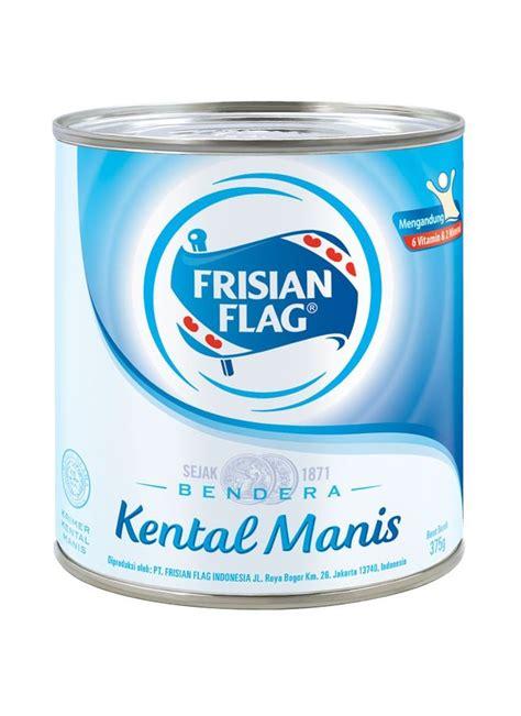 Kental Manis Frisian Flag Frisian Flag Kental Manis Putih Klg 370g Klikindomaret