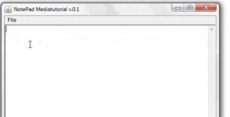 java tutorial using notepad java no 15 membuat notepad app membuat function untuk