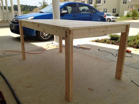 simple dining table plans pdf woodworking
