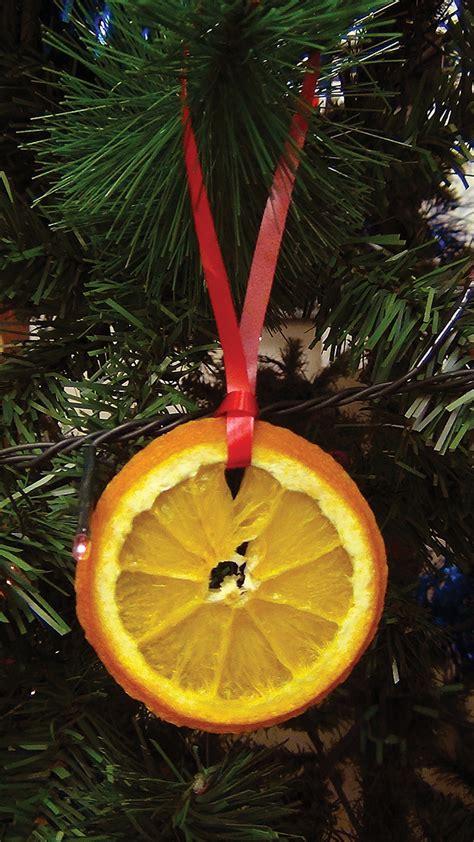 orange tree decorations made dried orange tree decorations