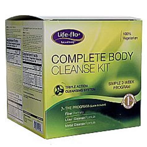 Complete Detox Kit by Flo Complete Cleanse Kit 1 Kit Fast