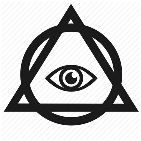 illuminati triangle eye ruins of chaos new world order