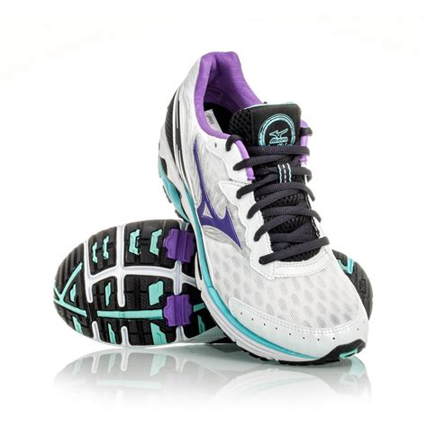 mizuno shoes wave rider 16 mizuno wave rider 16 womens running shoes white aqua