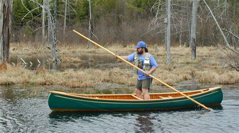 Handmade Canoe For Sale - 14 e m white northwoods canoe co