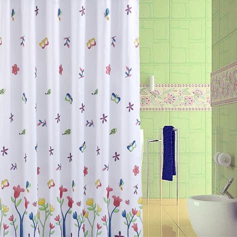 Novelty Bathroom Curtains Waterproof Shower Curtain Image Is Loading Blue Magnolia