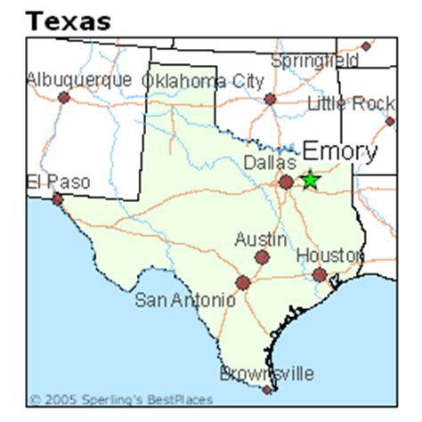 emory texas map best places to live in emory texas