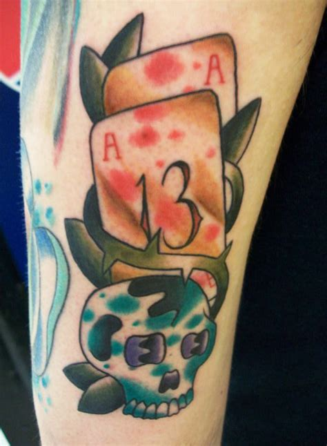 poker card tattoos designs 30 coolest play cards designs around the web