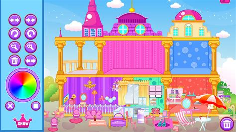 amazoncom princess doll house decoration game