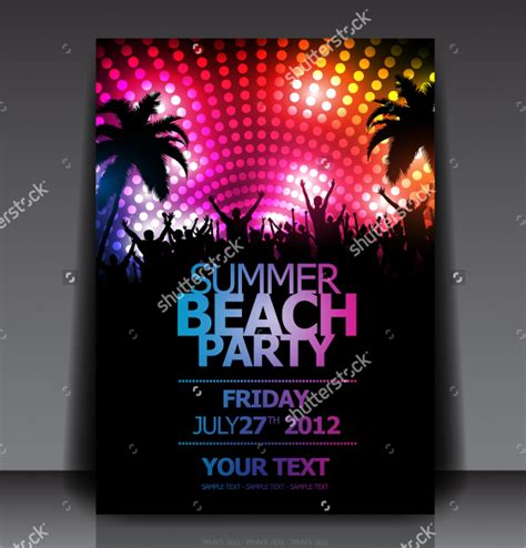 34 party flyer templates free psd ai eps format