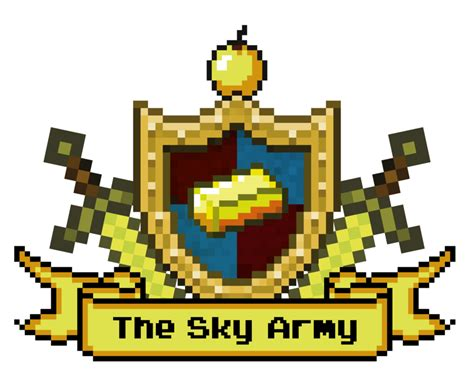 Army Of The Sky pixel joint forum paid lf artist to do gaming crest