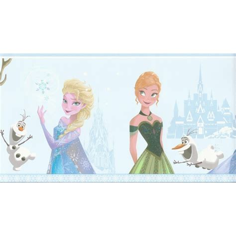 frozen wallpaper roll flair for frozen decorate your kid s bedroom in disney s