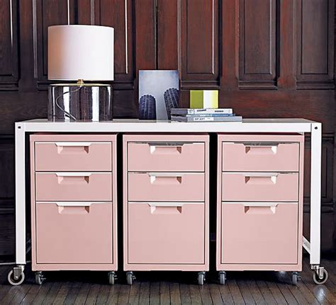 pink filing cabinet pretty pink filing cabinets office space