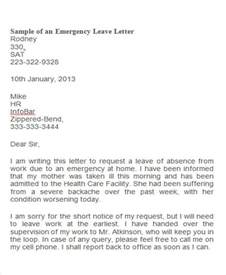 Response To Query Letter For Absenting From Work 38 Leave Letter Sles