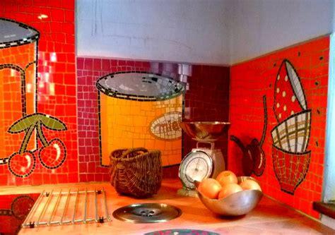 Credence En Mosaique by Credence De Cuisine En Mosaique Projets R 233 Alisations En