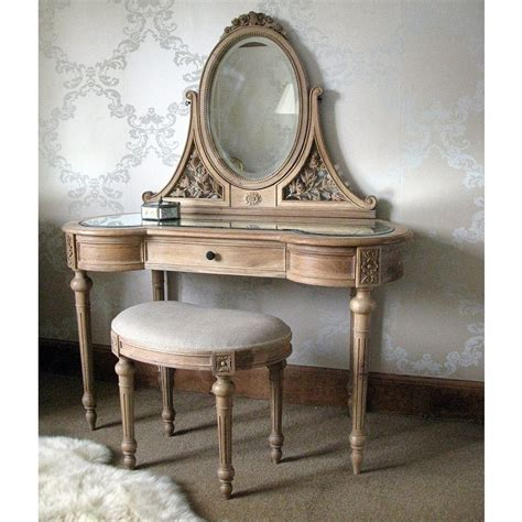 antoinette oak dressing table bedroom company