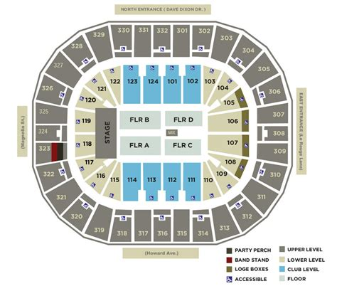 How To Find Floor Plans For A House by Smoothie King Center Seating Charts