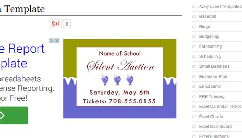 5 silent auction flyer templates af templates