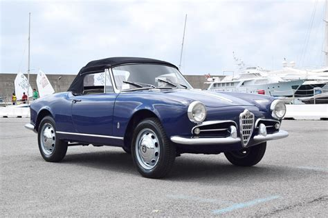 1959 Alfa Romeo Giulietta Spider by 1959 Alfa Romeo Giulietta Spider 750 Series Coys Of
