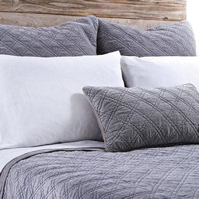 lavender coverlet pom pom at home brussels coverlet hestia linens